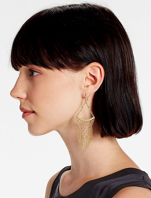 Lucky Statement Chain Earrings