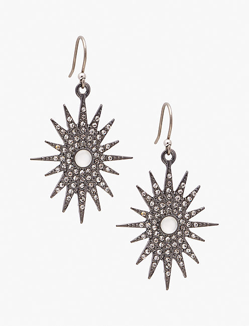 STARBURST DROP EARRING,