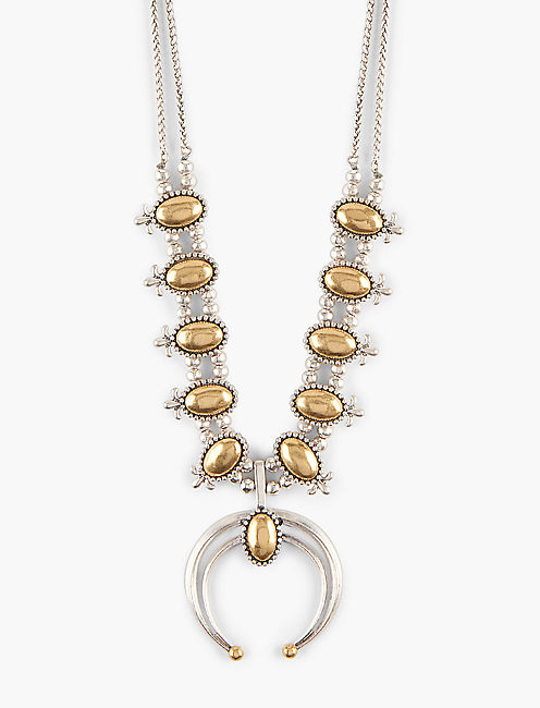 SQUASH BLOSSOM NECKLACE,