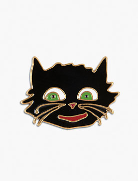 Lot, Stock And Barrel BLACK CAT PIN