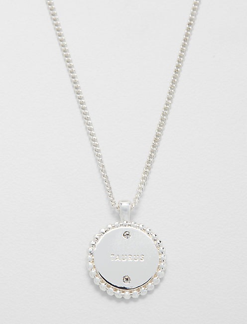 Lucky Small Taurus Zodiac Necklace