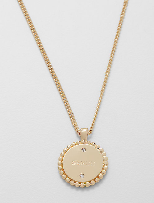 Lucky Small Gemini Zodiac Necklace