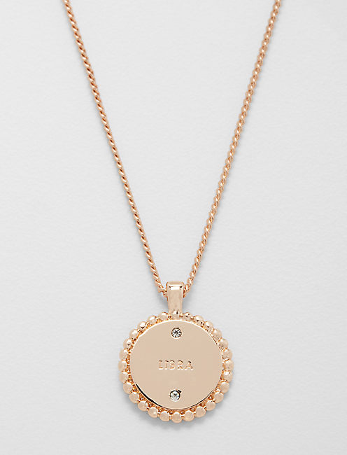 Lucky Small Libra Zodiac Necklace
