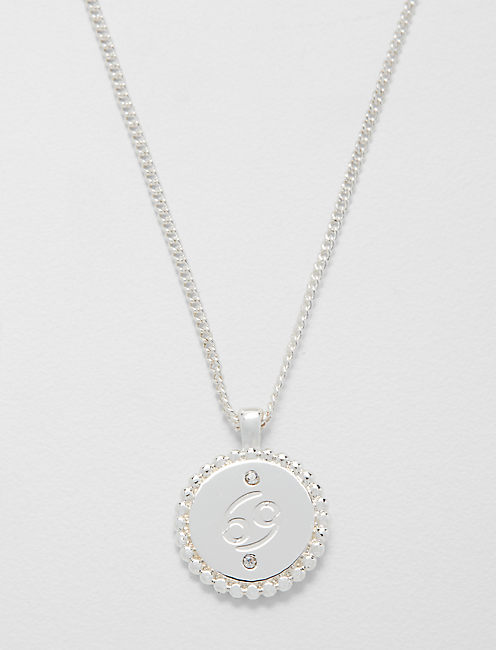 SMALL CANCER ZODIAC NECKLACE,