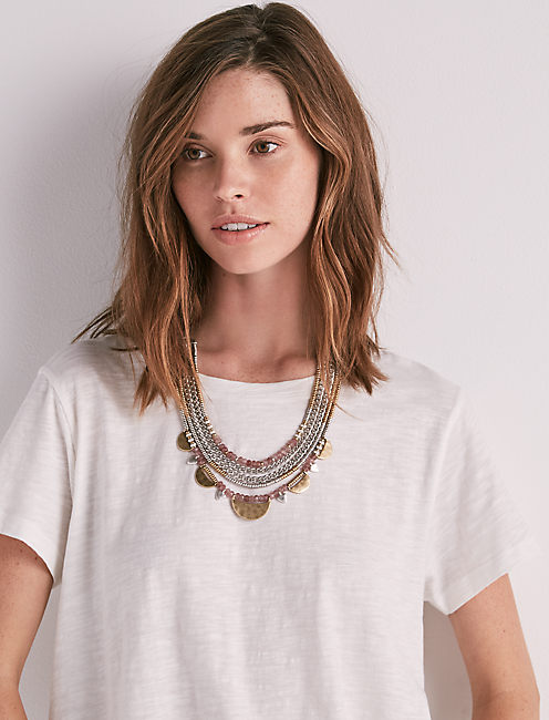 Lucky Statement Collar Necklace