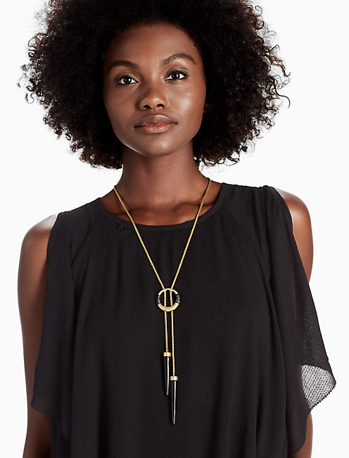 Lucky Black And Gold Bolo