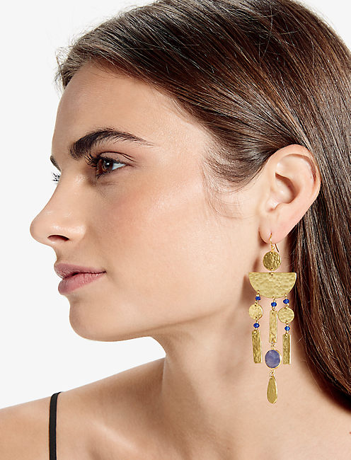 Lucky Dangle Statement Earring