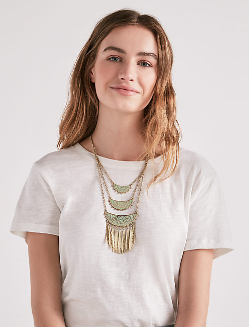Lucky Petina Statement Necklace