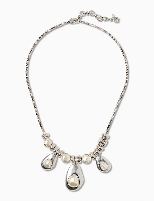 PEARL COLLAR NECKLACE,