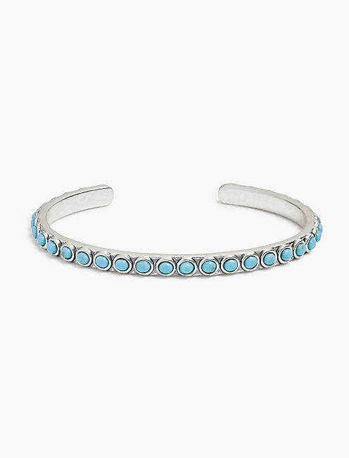 TURQUOISE THIN CUFF,