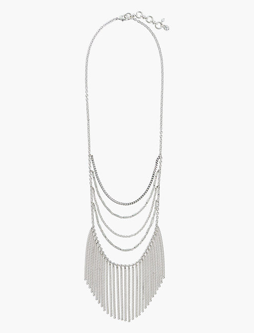 layered chain necklace lucky brand