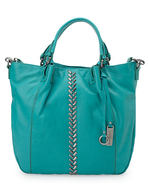 CHARLOTTE TOTE, BRIGHT BLUE
