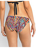 SPLASH RUCHED BOTTOM, MULTI