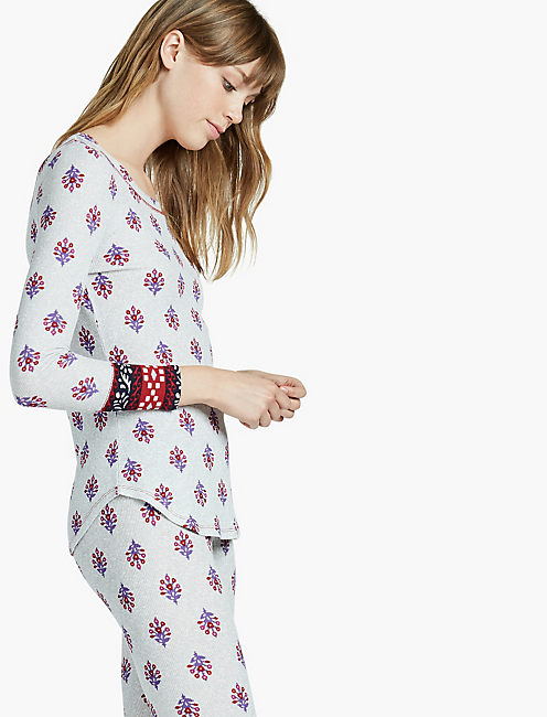 PRINTED PAJAMA THERMAL,