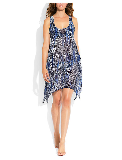 BATIK PARADISE COVERUP, DARK BLUE