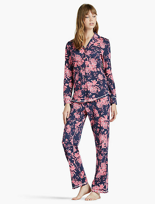 NOTCH COLLAR PAJAMA,