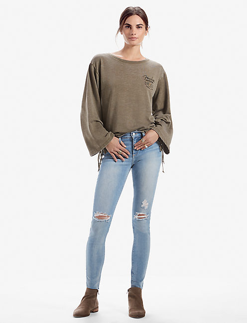 FENDER LACE UP PULLOVER,