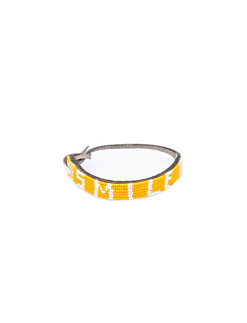 SMILE BRACELET, YELLOW