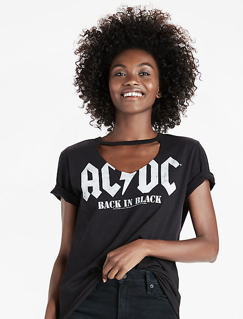 AC/DC Tee, 001 LUCKY BLACK