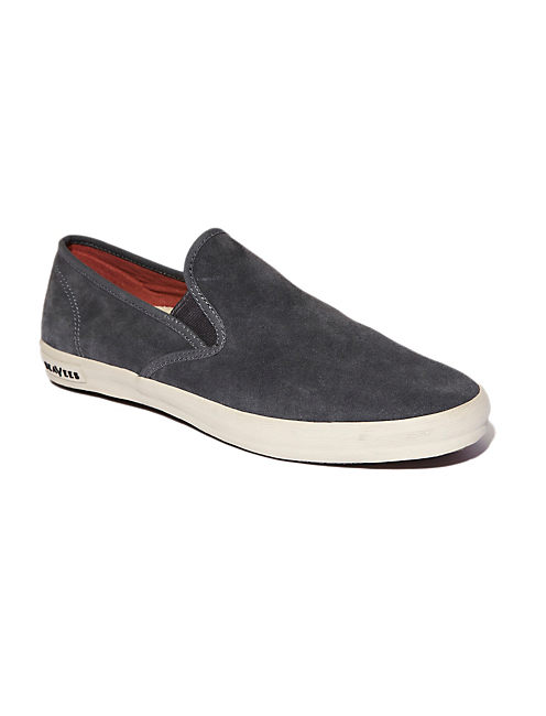 SEAVEES BAJA SLIP ON, DARK SHADOW SUEDE