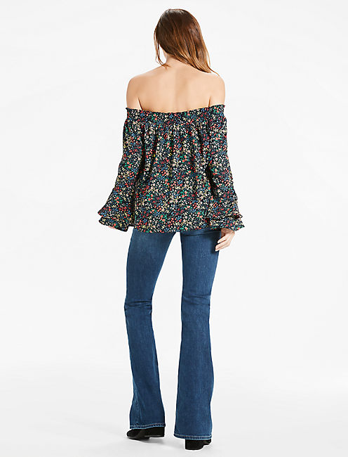 OFF SHOULDER DITSY TOP,