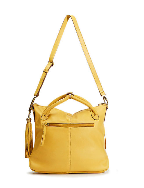 DEL REY MINI TOTE, MEDIUM DARK YELLOW