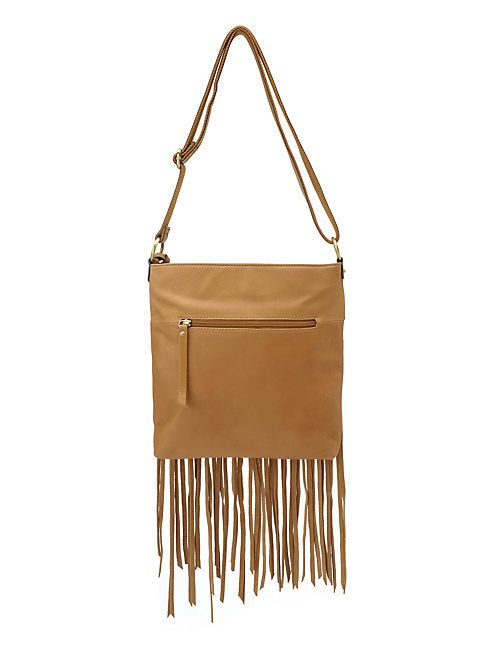 LOREDO CROSSBODY, LIGHT BROWN