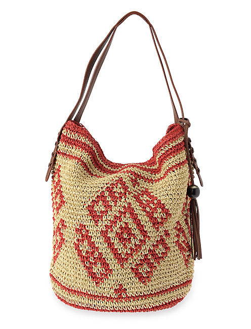 SIERRA HOBO, MEDIUM BEIGE