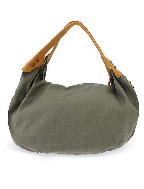 MEXICALI SLOUCHY TOTE, DARK GREEN