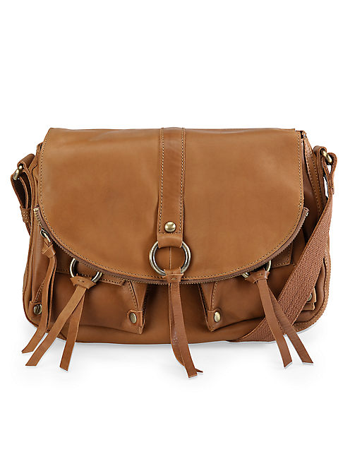 STASH HANDBAG, COGNAC
