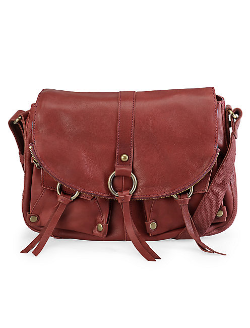 STASH HANDBAG, CRANBERRY