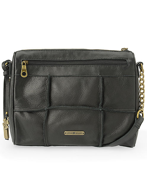 LOGAN CROSSBODY ZIP, BLACK