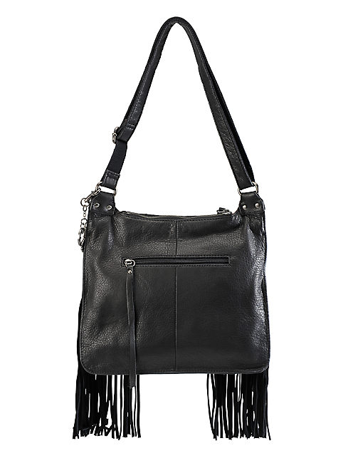 FLORA CROSSBODY HANDBAG, BLACK