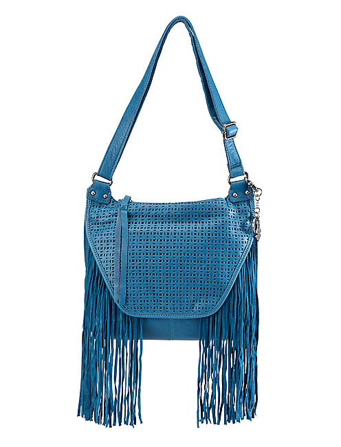FLORA CROSSBODY HANDBAG, PEACOCK