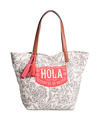 LUCKY KEY WEST TOTE