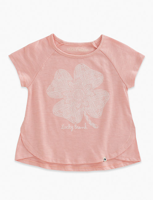 LUCKY LACE TEE,