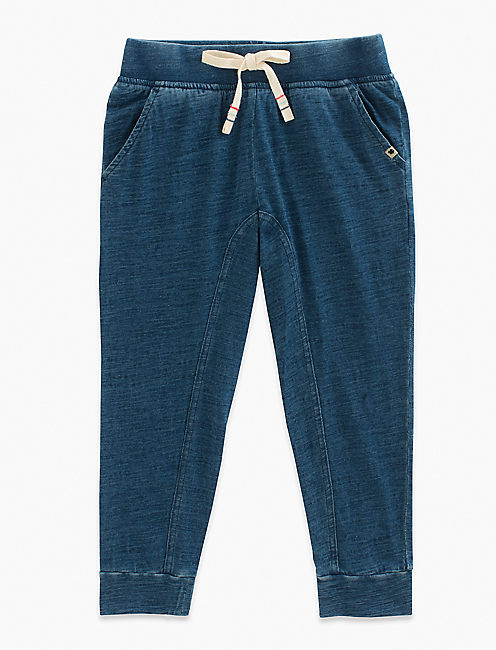 INDY JOGGER, INDIGO HEATHER