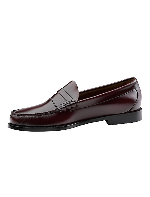 WEEJUN LOAFERS, DARK RED