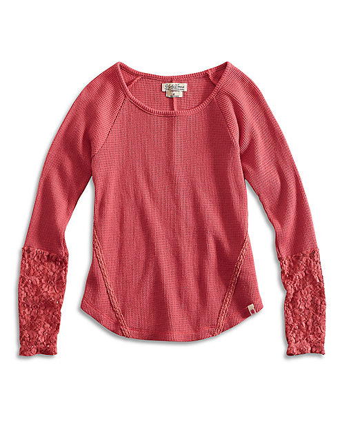 TATE L/S THERMAL, INDIAN RED
