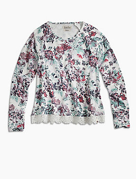 FLORAL PRINTED POPOVER