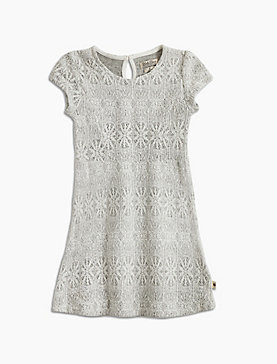 BONDED LACE DRESS