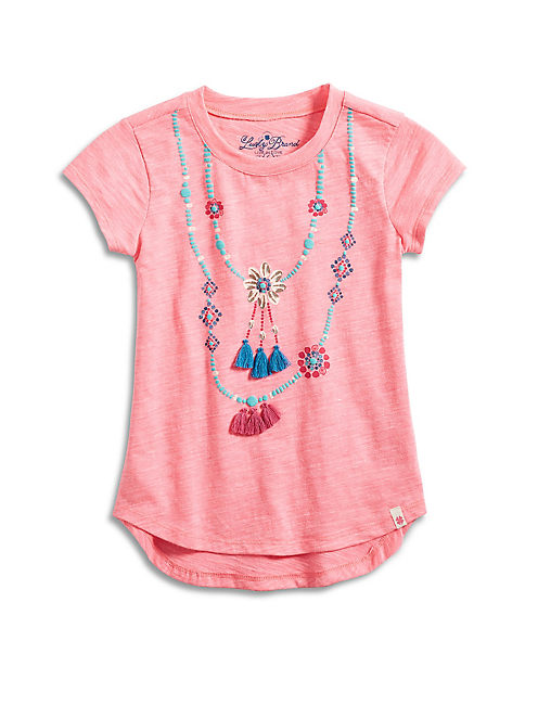 SHELL NECKLACE TEE,