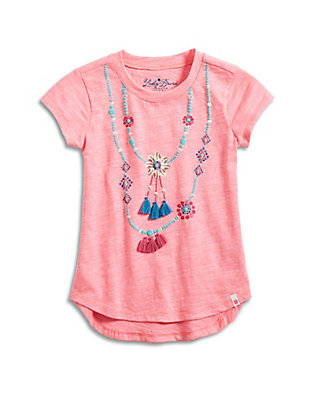 LUCKY SHELL NECKLACE TEE