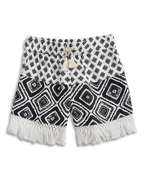 MIX EM UP SHORTY SHORT, BLACK