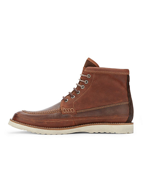 MACK LACE UP BOOT, RUST BROWN