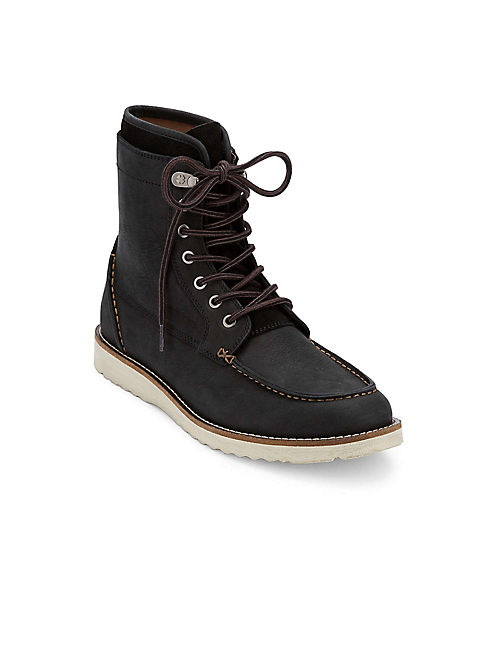 MUNFORD LACE UP BOOT, BLACK
