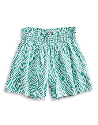 LUCKY CALI SMOCKED SHORT