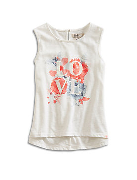 LOVE FLORAL TANK