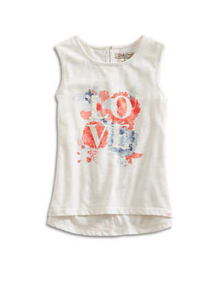 LUCKY LOVE FLORAL TANK