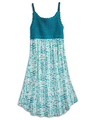 LUCKY CROCHET BODICE DRESS